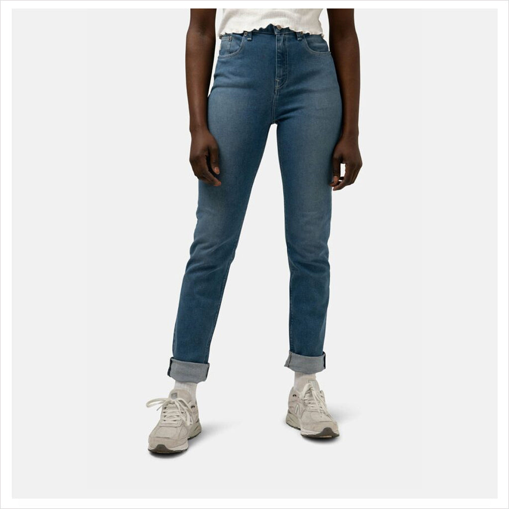 MUD JEANS - STRETCH MIMI - PURE BLUE