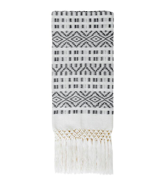 BLACK CHIAPAS HAND TOWEL