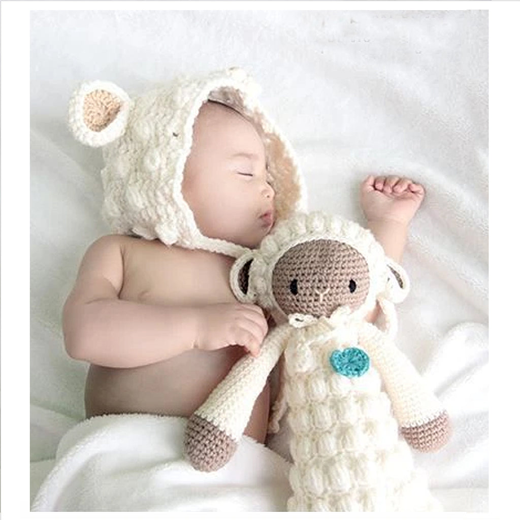 HANDWOVEN BABY HAT - SHEEP