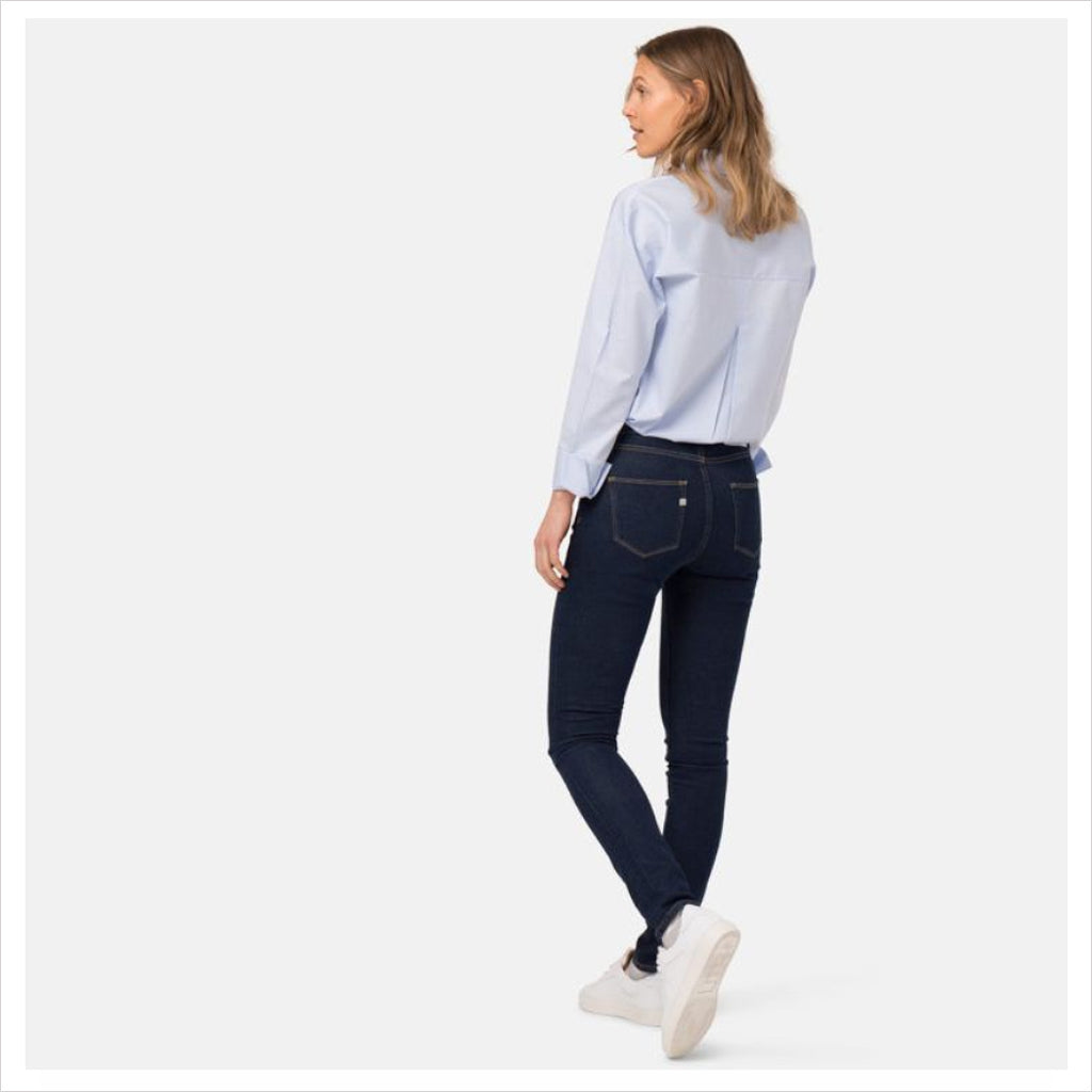 MUD JEANS - SKINNY HAZEN - STRONG BLUE