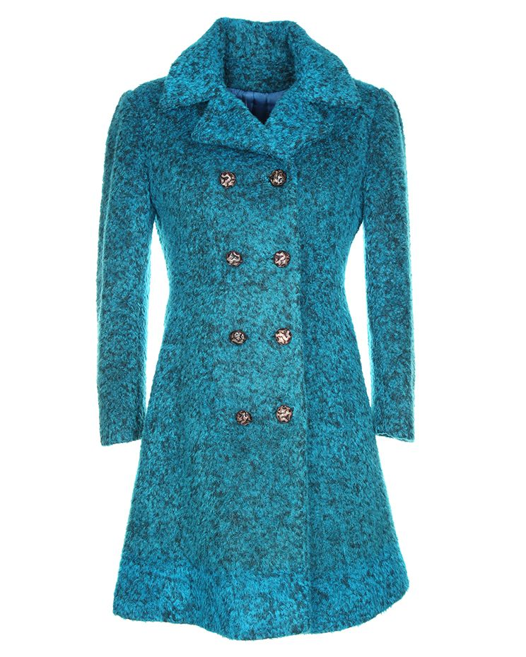 1960s DUTCH PLUSH WOOL COAT