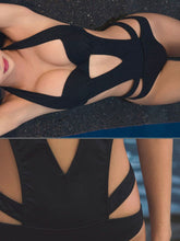 Load image into Gallery viewer, Halter  Backless  Plain One Piece