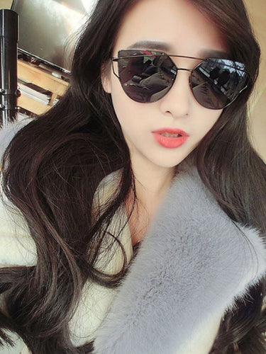Plain Colorful Fashion Sunglasses