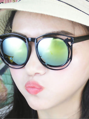 Plain Color Film Colorful Fashion Sunglasses