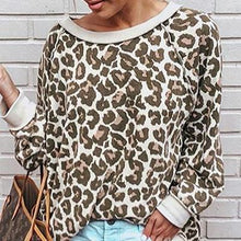 Load image into Gallery viewer, Fashion Leopard Print Long Sleeve T-Shirt