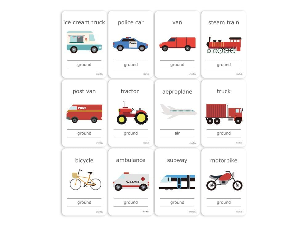 Wholesale children's learning cards