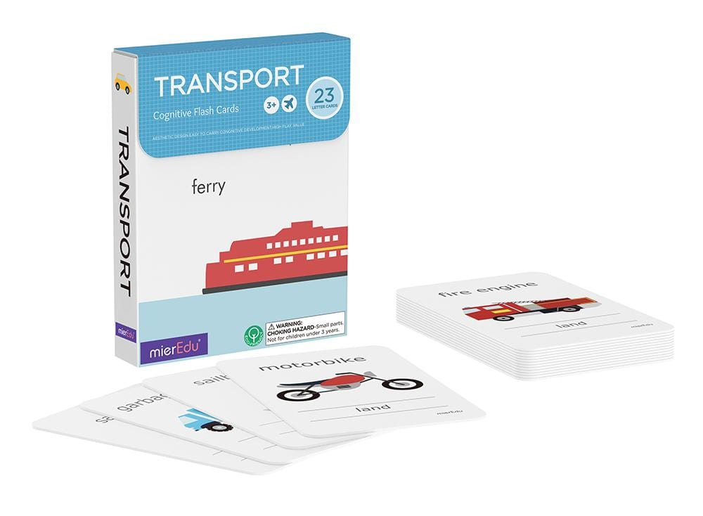 wholesale transport flash cards