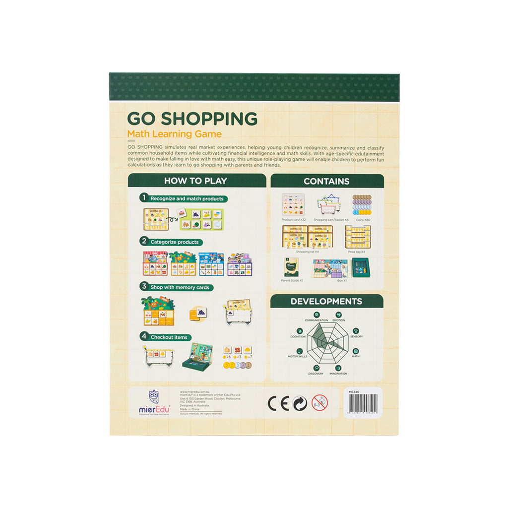 Math Learning Game – Go Shopping