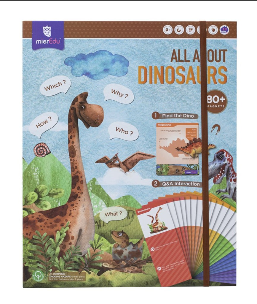 All about Dinosaurs Magnetic Puzzle