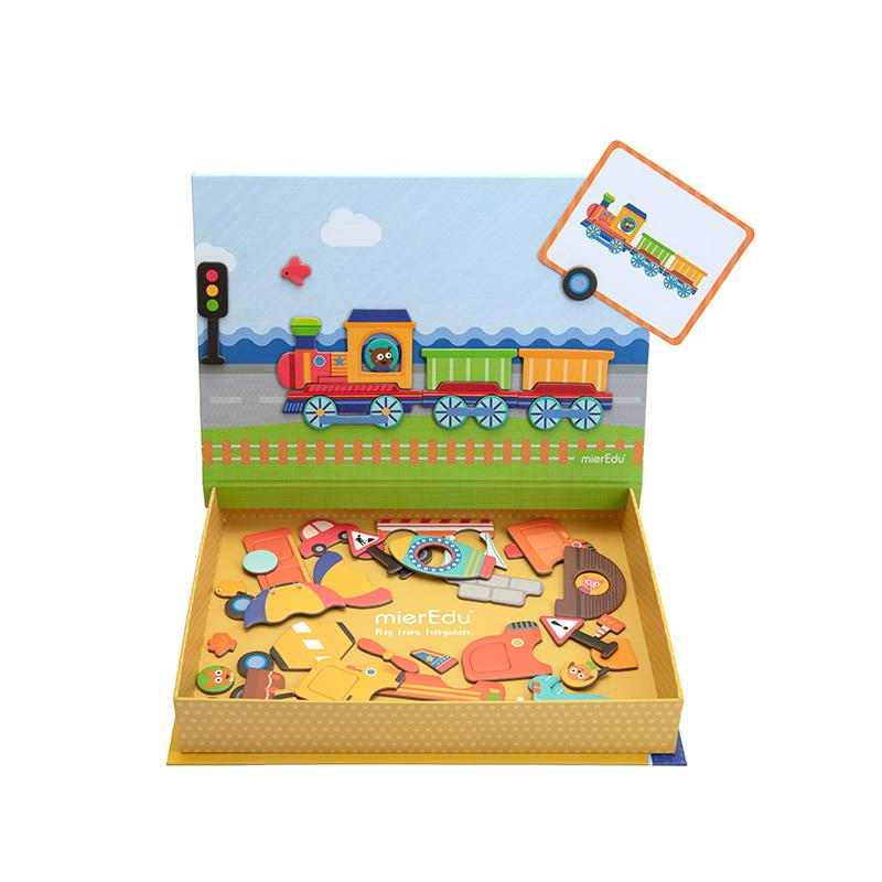 Wholesale Vehicle magnetic puzzle