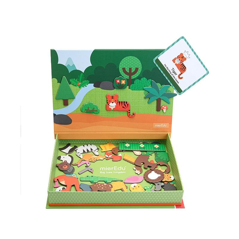 Wholesale animal world magnetic puzzle