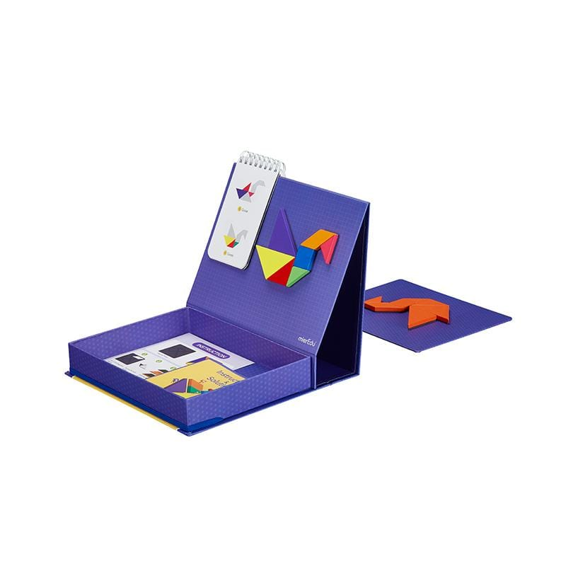 Wholesale magnetic tangram puzzle