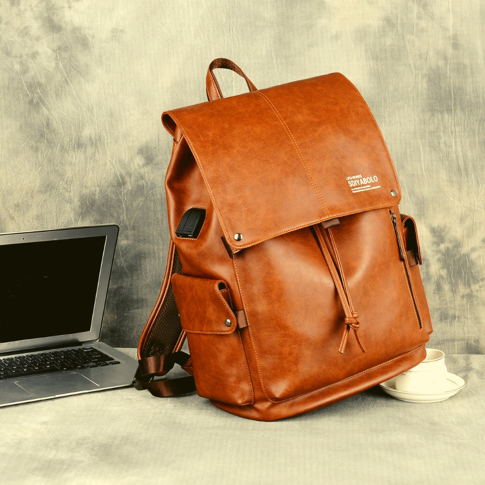 Travel bag School/College Backpack fits up to 15.6 Inch Notebook Computer USB Charging Backpack
