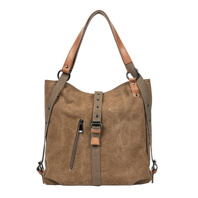 Image of Canvas Tote Bag Women Handbags