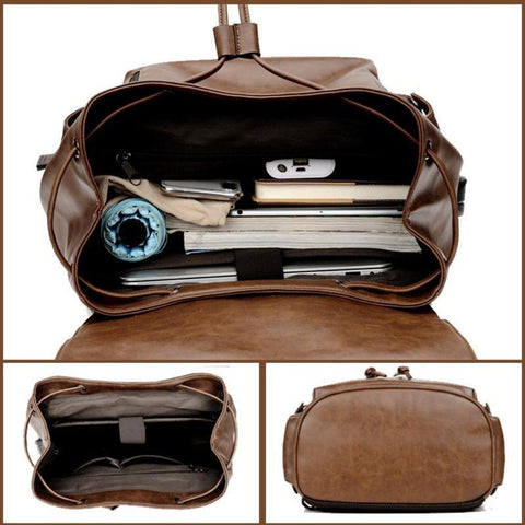 Image of Travel bag School/College Backpack fits up to 15.6 Inch Notebook Computer USB Charging Backpack