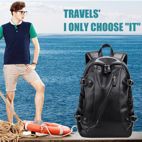 Men Backpack USB Charge Tourist Anti-Theft for 15.6 Inch Computer