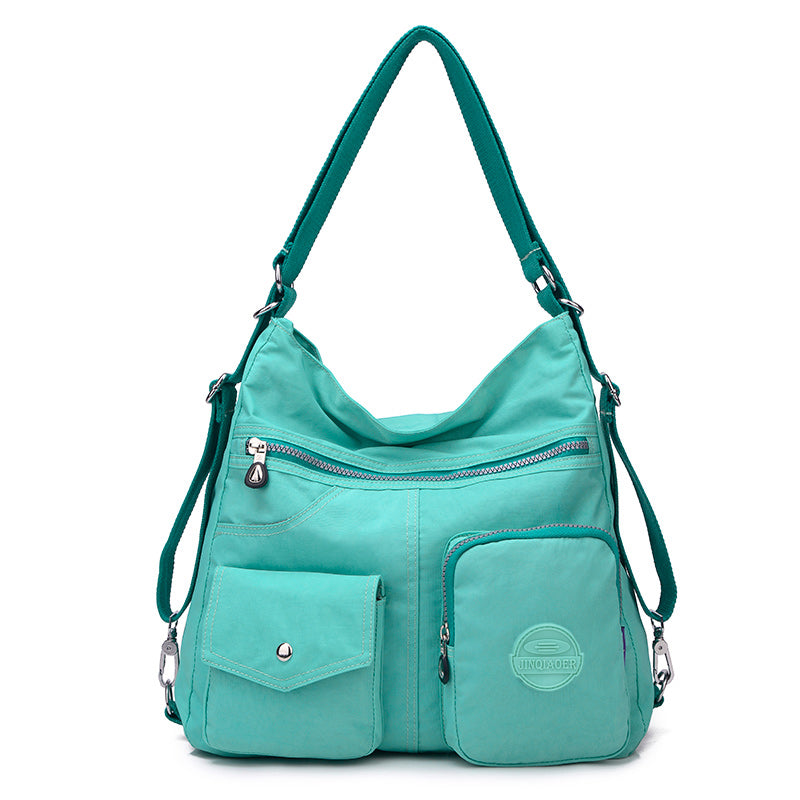 New Waterproof Double Shoulder Women Bag