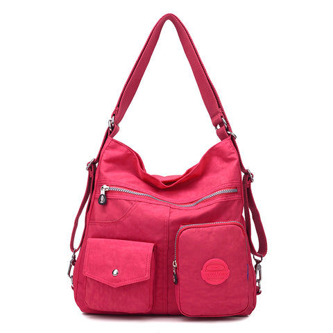 Image of New Waterproof Double Shoulder Women Bag