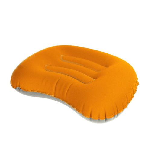 Mini Travel Neck Pillow Ultralight Portable Inflatable Pillow Air Cushioning for Outdoor Tent Travel Soft TPU Pillow