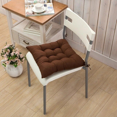 Home Chair Seat Cushion Pad Winter Office Bar Chair Back Seat Cushions Sofa Pillow Buttocks Chair Cushion 40*40cm