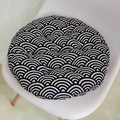 Round Shape Seat Cushion Tatami Cushion Pillow Home Decoration Car Sofa Cushion Multicolor optional 48x48cm Free shipping