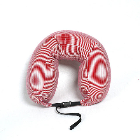 PEIYUAN 2017 Hot Sale  U Shaped Pillow Cushion Nanoparticles Car Travel Pillow Office Lunch Break Travel Neck Pillow
