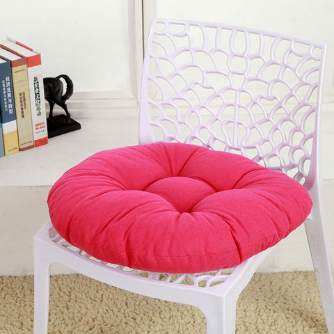 Candy Colored Cushions Round Seat Cushion Wave Window Seat Cushion Home Decor Pad Round Pillow Seat Pillow For Chairs Sit Pillow