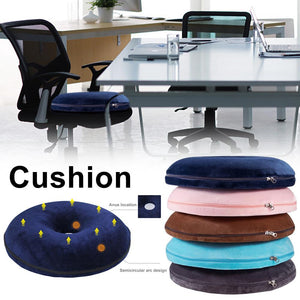 Anti Hemorrhoid Massage Chair Seat Cushion Hip Push Up Yoga Orthopedic Comfort Foam Tailbone Pillow Car Office Seat Cushion 40P