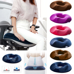 Anti Hemorrhoid Massage Chair Seat Cushion Hip Push Up Yoga Orthopedic Comfort Foam Tailbone Pillow Car Office Seat Cushion