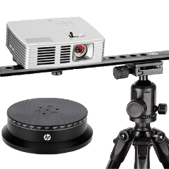 HP 3D SLS Scanner Pro S3 with turntable