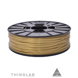 Thinglab PLA Filament 1.75mm - Weathered Gold