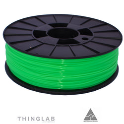 Thinglab PLA Filament 1.75mm - Translucent Dark Green