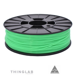 Thinglab PLA Filament 1.75mm - Translucent Lime Green