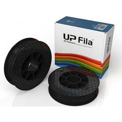 PLA UP Premium Filament (Carton of 2X500g rolls) Colour: Black