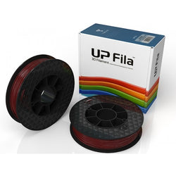 PLA UP Premium Filament (Carton of 2X500g rolls) Colour: Burgundy Red