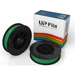 PLA UP Premium Filament (Carton of 2X500g rolls) Colour: Green