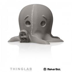 MakerBot Large PLA 1.75mm - 0.9Kg - Cool Grey