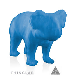 Thinglab PLA Filament 1.75mm - Translucent Blue