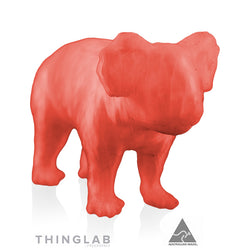 Thinglab PLA Filament 1.75mm - Translucent Orange