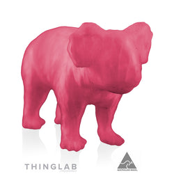 Thinglab PLA Filament 1.75mm - Translucent Pink