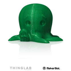 MakerBot SMALL PLA 1.75mm - 0.22Kg - Translucent Green