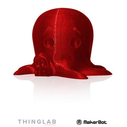MakerBot SMALL PLA 1.75mm - 0.22Kg - Translucent Red