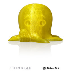 MakerBot SMALL PLA 1.75mm - 0.22Kg - Translucent Yellow