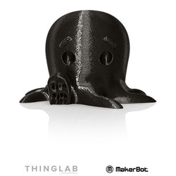 MakerBot Large PLA 1.75mm - 0.9Kg -True Black