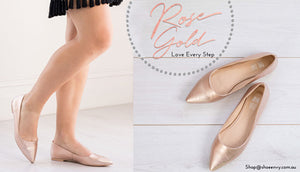 Cherish me in rose gold…