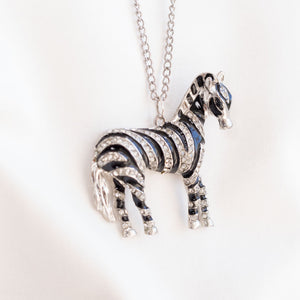 Accessories - Stripy Horse Necklace