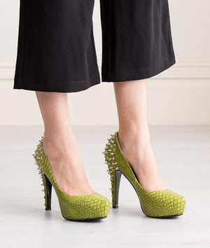 High Heels - Green Dragon