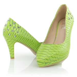 High Heels - Jade Dragon