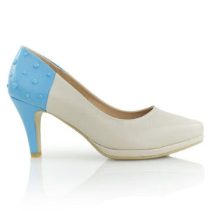 Blue Smarties - Low Heels - Shoe Envy
