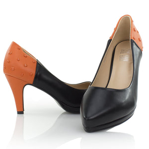 Low Heels - Orange Smarties